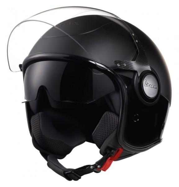 Vespa VJ Helm schwarz / schwarz