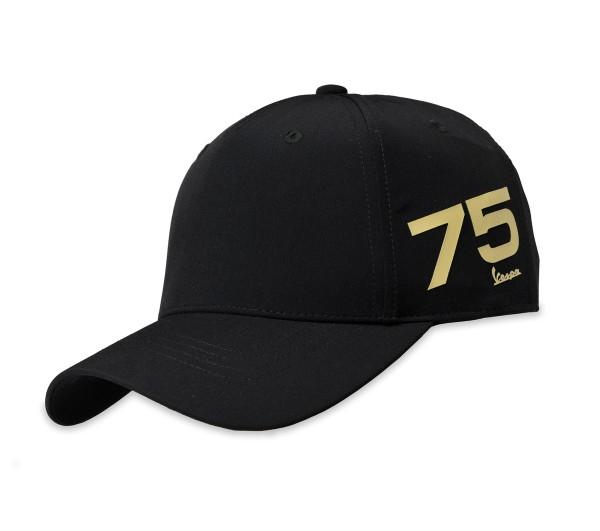 Vespa Cap 75 Jahre - schwarz