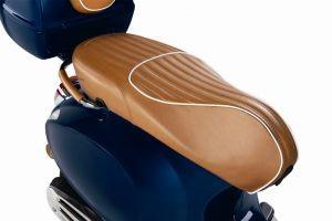 Luxury Line - Echtleder Sitzbank für Vespa Primavera