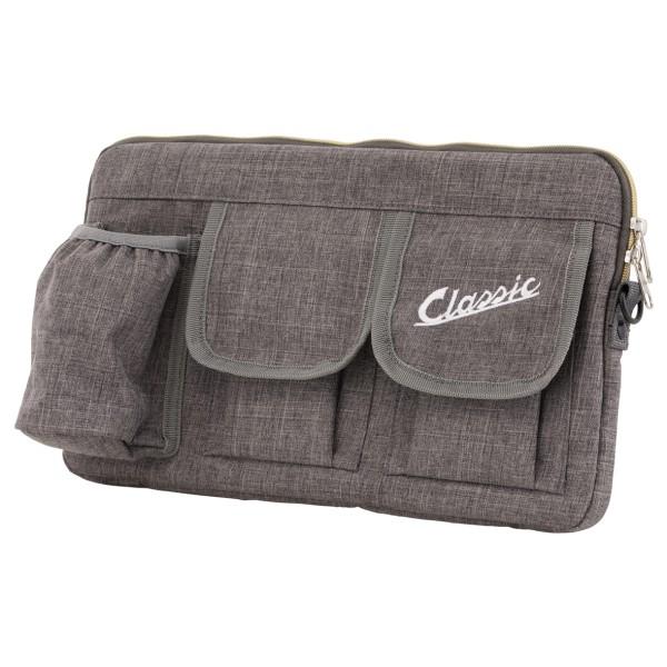 """Tasche """"Classic"""" für Gepäckfach/Handschuhfach Vespa - grau, Nylon"""