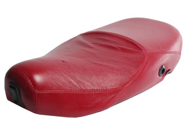 Vespa Sitzbank Echt-Leder rot für LX 50-150ccm Touring, ET2/ET4 /LX/LXV/S 50-150ccm-