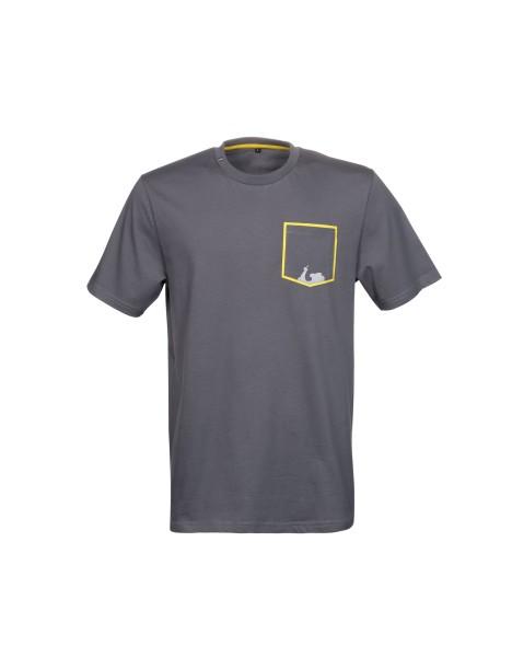 Vespa T-Shirt Graphic Herren grau