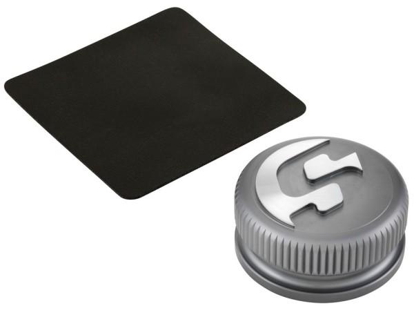Tankdeckel für Vespa, grau matt