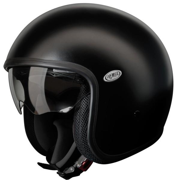 Premier Vintage Helm matt-schwarz