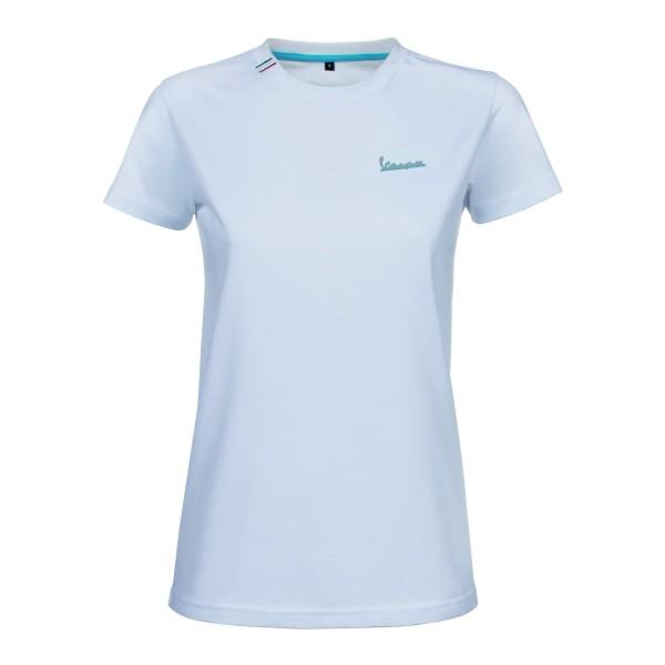 Vespa T-Shirt Graphic Damen weiss