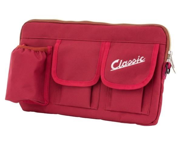 """Tasche """"Classic"""" für Gepäckfach/Handschuhfach Vespa - rot, Nylon"""